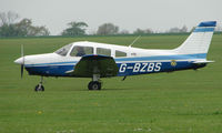 G-BZBS @ EGBK - a visitor to the Sywell GA scene on Tiger Moth Fly-in Day in May 2008