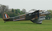G-AGJG @ EGBK - Classic DH89A Rapide joins the Sywell GA scene on Tiger Moth Fly-in Day in May 2008