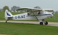 G-BJWZ @ EGBK - Visitor to the Sywell GA scene on Tiger Moth Fly-in Day in May 2008