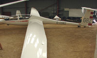 G-CGBZ - A recent addition to the British Register at Needwood Forest Gliding Centre - by Terry Fletcher