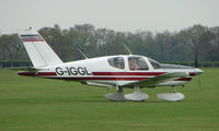 G-IGGL @ EGBK - Visitor to the Sywell GA scene on Tiger Moth Fly-in Day in May 2008