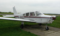 G-BOZI @ EGSF - Piper Pa-28-161  at Peterborough Conington - by Terry Fletcher