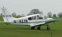 G-AZYA @ EGBK - No mistaking the registration of this aircraft !!!