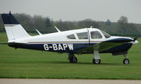 G-BAPW @ EGBK - Visitor to  the Sywell GA scene on Tiger Moth Fly-in Day in May 2008