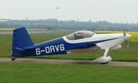G-ORVG @ EGSF - Vans RV-6 at Peterborough Connington