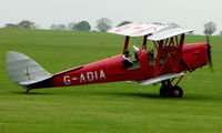 G-ADIA @ EGBK - Classic Tiger Moth at Sywell meet in May 2008 - by Terry Fletcher
