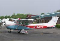 G-WACY @ EGTB - Cessna F172 based at Wycombe Air Centre - by Simon Palmer