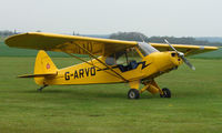 G-ARVO @ EGSP - Piper Cub at Sibson