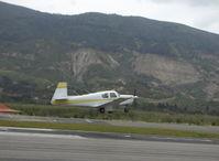 N1201X @ SZP - 1963 Mooney M20C, Lycoming O&VO-360 180 Hp, takeoff Rwy 22 - by Doug Robertson