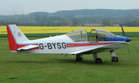 G-BYSG @ EGSP - at Peterborough Sibson