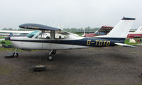 G-TOTO @ EGBD - Cessna Cardinal at Derby Eggington for maintenance