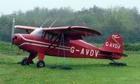 G-AVDV @ EGBD - Piper Carribean at Derby Eggington