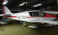 G-CDAI @ EGBD - Robin DR400 at Derby Eggington