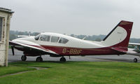 G-BBIF @ EGBM - Visiting Pa-23-250 at Tatenhill