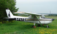 G-FAYE @ EGSP - Cessna F150M at Peterborough Sibson