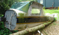 G-BGEA @ EGSP - A bent fuselage is all that remains of this Cessna after its July 2004 incident