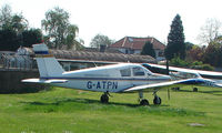 G-ATPN @ EGMC - Piper Pa28-140 of the Southend Flying Club