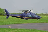 G-IFRH @ EGTB - Registered Owners: HELICOPTER SERVICES LTD - Ex: N637CG - by Clive Glaister