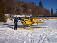 CF-RAW - Taylorcraft on skiis March 2007 - by Frank Jolin