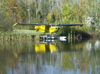 CF-RAW - Taylorcraft on floats October 2007 - by Clarence Lloyd