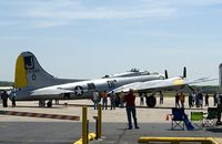 N390TH @ KRVS - B-17 Liberty Belle visiting KRVS. - by Steven Ables