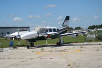 N21HL @ LAL - Piper PA-31-350 - by Florida Metal