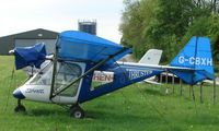 G-CBXH @ EGHP - A very pleasant general Aviation day at Popham in rural UK