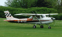 G-AYCF @ EGHP - A very pleasant general Aviation day at Popham in rural UK