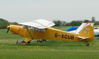 G-XCUB @ EGHP - A very pleasant general Aviation day at Popham in rural UK
