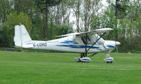 G-CDRO @ EGHP - A very pleasant general Aviation day at Popham in rural UK