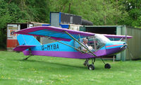G-MYBA @ EGHP - A very pleasant general Aviation day at Popham in rural UK