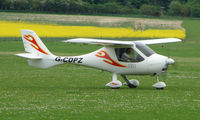 G-CDPZ @ EGHP - A very pleasant general Aviation day at Popham in rural UK