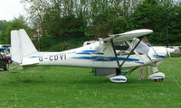 G-CDVI @ EGHP - A very pleasant general Aviation day at Popham in rural UK