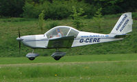 G-CERE @ EGHP - A very pleasant general Aviation day at Popham in rural UK