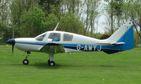 G-AWYJ @ EGHP - A very pleasant general Aviation day at Popham in rural UK