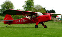 G-AJRB @ EGHP - A very pleasant general Aviation day at Popham in rural UK