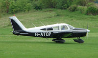 G-ATOP @ EGHP - A very pleasant general Aviation day at Popham in rural UK
