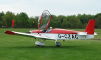 G-CZAC @ EGHP - A very pleasant general Aviation day at Popham in rural UK