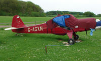 G-AGXN @ EGHP - A very pleasant general Aviation day at Popham in rural UK