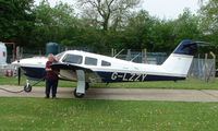 G-LZZY @ EGHP - A very pleasant general Aviation day at Popham in rural UK
