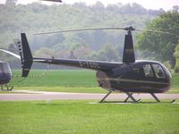 G-TGDL @ EGBW - Robinson R44 at Wellesbourne - by Simon Palmer