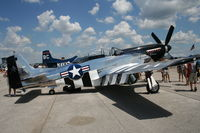 N51HY @ LAL - P-51D Quick Silver