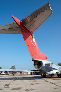 N202US @ KMEB - ex Northwest Boeing 727-200