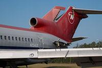 N204US @ KMEB - ex Northwest Boeing 727-200