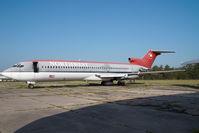 N275US @ KMEB - ex Northwest Boeing 727-200