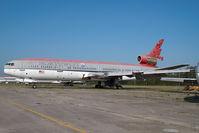 N228NW @ KMEB - ex Northwest DC10