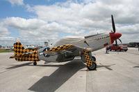 N51MV @ LAL - F-51D Luscious Lisa