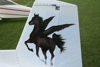 N211BS @ LAL - Mustang M-II