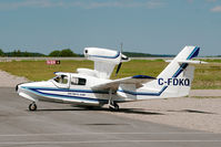 C-FDKQ @ CYHD - A Lake 250 Renegade sitting on the Dryden ramp - by DJKennedy