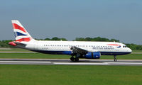 G-EUUN @ EGCC - Some of the typical traffic that can be seen at Manchester (Ringway)  International